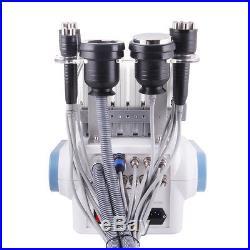 6 In 1 40k Cavitation Ultrasonic Fat Slimming Machine Vacuum 3D RF Face Lifting