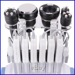 6 In 1 40k Cavitation Ultrasonic Fat Slimming RF Vacuum Machine Facial Lifting F