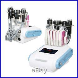 6 In 1 40k Cavitation Ultrasonic Radio Frequency RF Vacuum Fat Slimming Machine