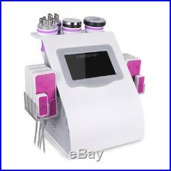 6 In 1 Lipo ultrasonic cavitation rf vacuum slimming beauty machine