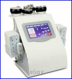 6 In 1 Ultrasonic Cavitation Bipolar Vacuum RF Body Sculpting slimming machine