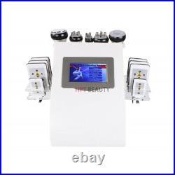 6 In 1 Ultrasonic Cavitation RF Vacuum Radio Frequency Body Slim Beauty Machine