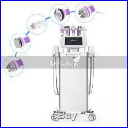 6 In 1 Ultrasonic Cavitation Vacuum RF LED light Body Slimming Beauty Machine