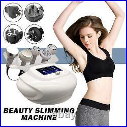 6 Probes 80k Ultrasonic Cavitation Vacuum RF Body Face Beauty Slimming Machine