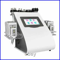 6 in1 Body Slimming Machine Ultrasonic Cavitation Fat Remover Anti-Cellulite FDA
