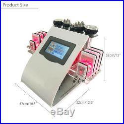 6 in1 Body Slimming Ultrasonic Vacuum Cavitation RF Frequency Cellulite Machine