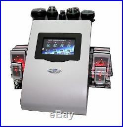 6 in1 Ultrasonic Cavitation Frequency RF Vacuum Slimming Machine weight loss