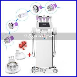 6 in1 Ultrasonic Cavitation RF Skin Lifting Vacuum Lipo Laser Slimming Machine