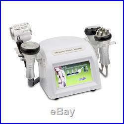 6 in1 Ultrasonic Cavitation Radio Frequency Slim Machine Vacuum Body fat burner