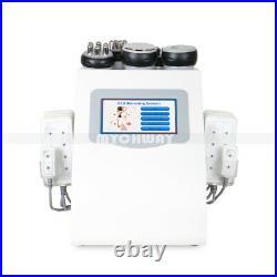 6 in1 Vacuum Ultrasonic Cavitation RF Fat Reduction LLLT Diode Skin Care Machine