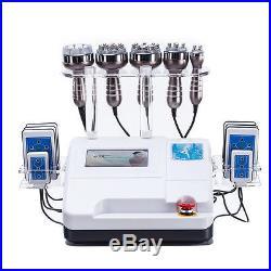 6 in 1 Radio Frequency RF Ultrasonic Cavitation Vacuum Body Shaping Slim Machine