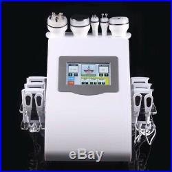 6 in 1 Ultrasonic Cavitation RF Skin Lift Vacuum Lipo Laser Slimming Machine Spa
