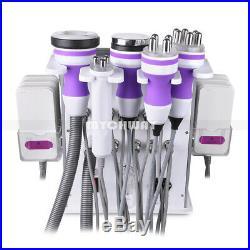 6 in 1 Ultrasonic Cavitation Vacuum RF Machine Body Fat Remover Skin Tightening