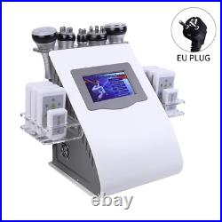 6 in 1 Ultrasonic Liposuction Cavitation Vacuum Laser Radio Slimming Machine