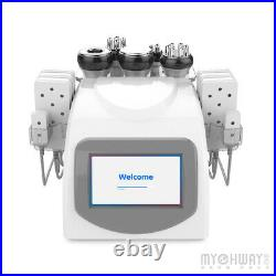 6 in 1 Vacuum Ultrasonic Cavitation Radio Frequency Body Slimming Beauty Machine