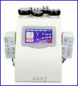 6 in 1 Vacuum cavitation system ultrasonic lipo RF body slimming laser machine