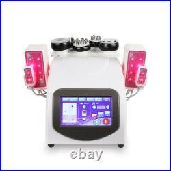 6 in 1 cavitation RF slimming machine Radio frequency Vacuum Ultrasonic lipo