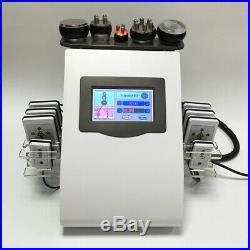 6 in 1 lipo Cavitation Ultrasonic RF Beauty Cellulite Removal Laser Slim Machine
