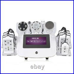 6 in 1 ultrasonic RF cavitation laser slimming machine Lipo cavitation device