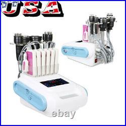 6in1 40K Cavitation Ultrasonic Fat Body LED Laser Radio Frequency Vacuum Machine