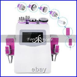 6in1 40K Cavitation Ultrasonic Radio Frequency Vacuum RF Cellulite Slim Machine