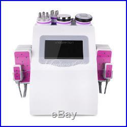 6in1 40K Cavitation Ultrasonic Radio Frequency Weight Loss Body Slim Machine SPA