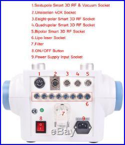 6in1 40K Ultrasonic Cavitation RF Radio Frequency Vacuum Fat Loss Photon Machine
