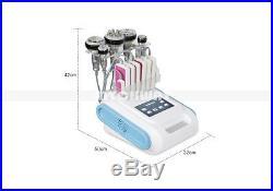 6in1 40K Ultrasonic Cavitation Radio Frequency Vacuum RF Anti Cellulite Machine