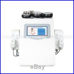 6in1 40K Ultrasonic Cavitation Radio Frequency Vacuum RF Cellulite Loss Machine