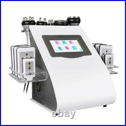 6in1 40K Ultrasonic Cavitation Vacuum RF Body Slimming LED Photon Beauty Machine