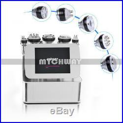 6in1 Cavitation Bipolar RF Ultrasonic Vacuum Fat Slimming Machine Photon Therapy