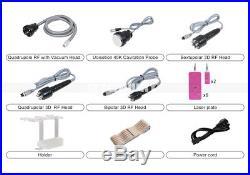 6in1 Cavitation Radio Frequency RF Ultrasonic Vacuum Slimming Cellulite Machine