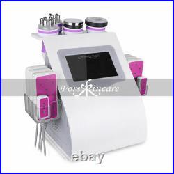 6in1 Cavitation Radio Frequency RF Vacuum Slimming Cellulite Ultrasonic Machine