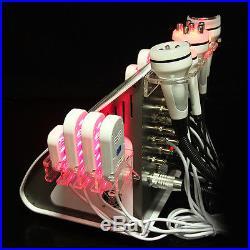 6in1 Cavitation Ultrasonic Body Slimming Vacuum Fat Removal RF Skin Lift Machine