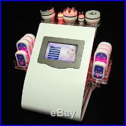 6in1 Cavitation Ultrasonic Radio Frequency RF Vacuum Cellulite Removal Machine