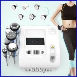 6in1 Cold Hammer Ultrasonic Cavitation 40K RF Vacuum Cellulite Slimming Machine