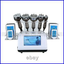 6in1 Laser+Ultrasonic+Vacuum+RF 40K Cavitation Vacuum Body Slimming Machine