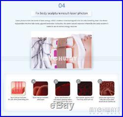 6in1 Lipo Laser Fat Burnt Vacuum Ultrasonic Cavitation RF Body Slimming Machine