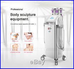 6in1 Lipo Laser Ultrasonic Cavitation Skin Lifting Vacuum Slimming Machine Salon