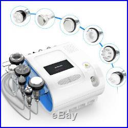 6in1 Multifunction Slimming RF Ultrasonic Cavitation 40K Vacuum Cooling Machine