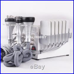 6in1 RF Radio Frequency Ultrasonic Cavitation Vacuum Fat Loss Cellulites Machine