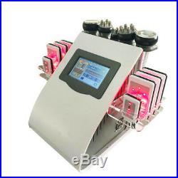 6in1 RF Ultrasonic Cavitation Radio Frequency Vacuum Cellulite Slimming Machine