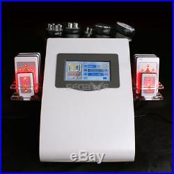 6in1 Radio Frequency Ultrasonic Cavitation RF Vacuum Slimming Cellulite Machine