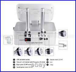 6in1 Radio Frequency Ultrasonic Cavitation Vacuum Body Slimming Beauty Machine