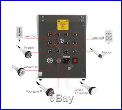 6in1 Slimming Cellulite Machine Ultrasonic Cavitation Vacuum RF Radio Frequency