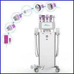 6in1 Ultrasonic 40K Cavitation Radio Frequency RF Slim Machine LED Lamp Skincare