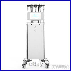 6in1 Ultrasonic 40K Cavitation Radio Frequency RF Vacuum Body Slimming Machine