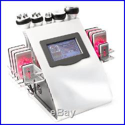 6in1 Ultrasonic 40K Cavitation Radio Frequency Vacuum Fat Loss Cellulite Machine