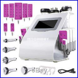 6in1 Ultrasonic Cavitation Photon RF Vacuum Cellulite Slimming Machine Free Gift