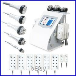 6in1 Ultrasonic Cavitation RF Radio Frequency Vacuum Anti Cellulite Machine Spa